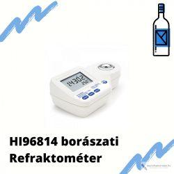 HI96814 Három skálás borászati digitális refraktométer