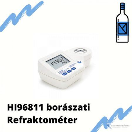 HI 96811 Borászati digitális refraktométer