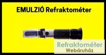 Ipari emulzió refraktométer RHB-05ATC