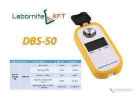 DBS-50 digitális refraktométer