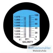 Sótartalom mérő refraktométer RHS-10ATC