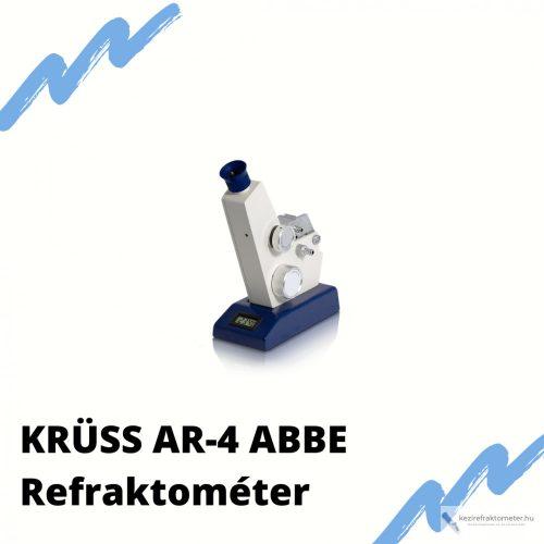 ABBE REFRAKTOMÉTER AR-4 KRÜSS