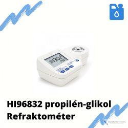 HI 96832 – Refraktométer a propilén‐glikol koncentrációjának méréséhez
