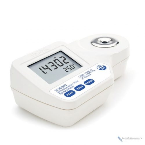 HI96800 digitális refraktométer törésmutató mérésére