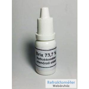 REFRAKTOMÉTER kalibráló olaj méz refraktométer kalibrálására /nem minősített/