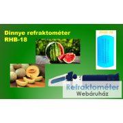Dinnye refraktométer RHB-18ATC
