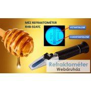 LABORNITE RHB-92ATC REFRAKTOMÉTER mézre és napraforgó olajra + kalibráló olaj