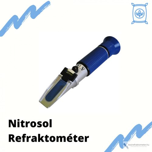 Nitrosol koncentráció mérő refraktométer RHB-90ATC