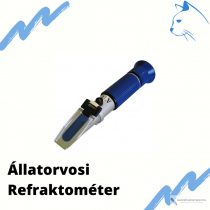 RAKTÁRKISÖPRÉS: RHC-300ATC - 50%  Állatorvosi refraktométer kutya, macska vizeletének mérésére