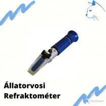 Állatorvosi refraktométer kutya, macska vizeletének mérésére