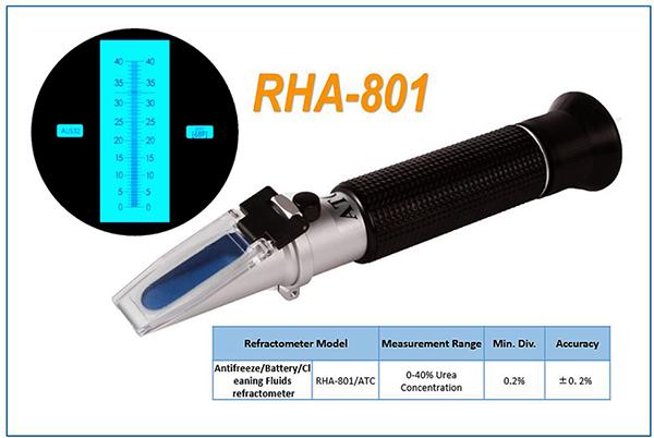 AdBlue refraktométer