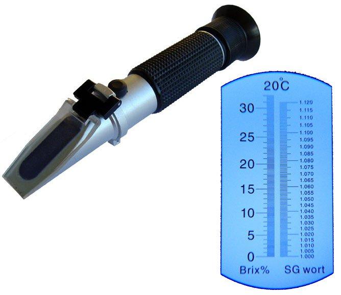 Kolosztrum refraktométer